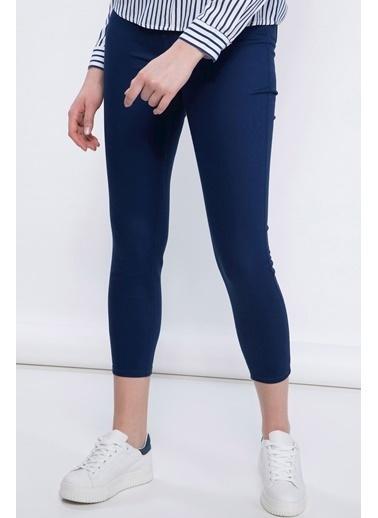 DeFacto Anna Yüksek Bel Süper Skinny  Pantolon Lacivert